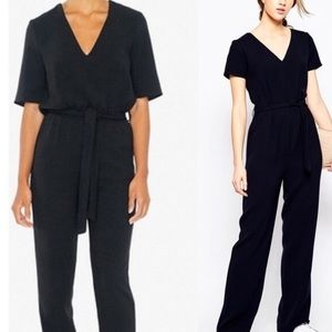 American Apparel belted jumpsuit